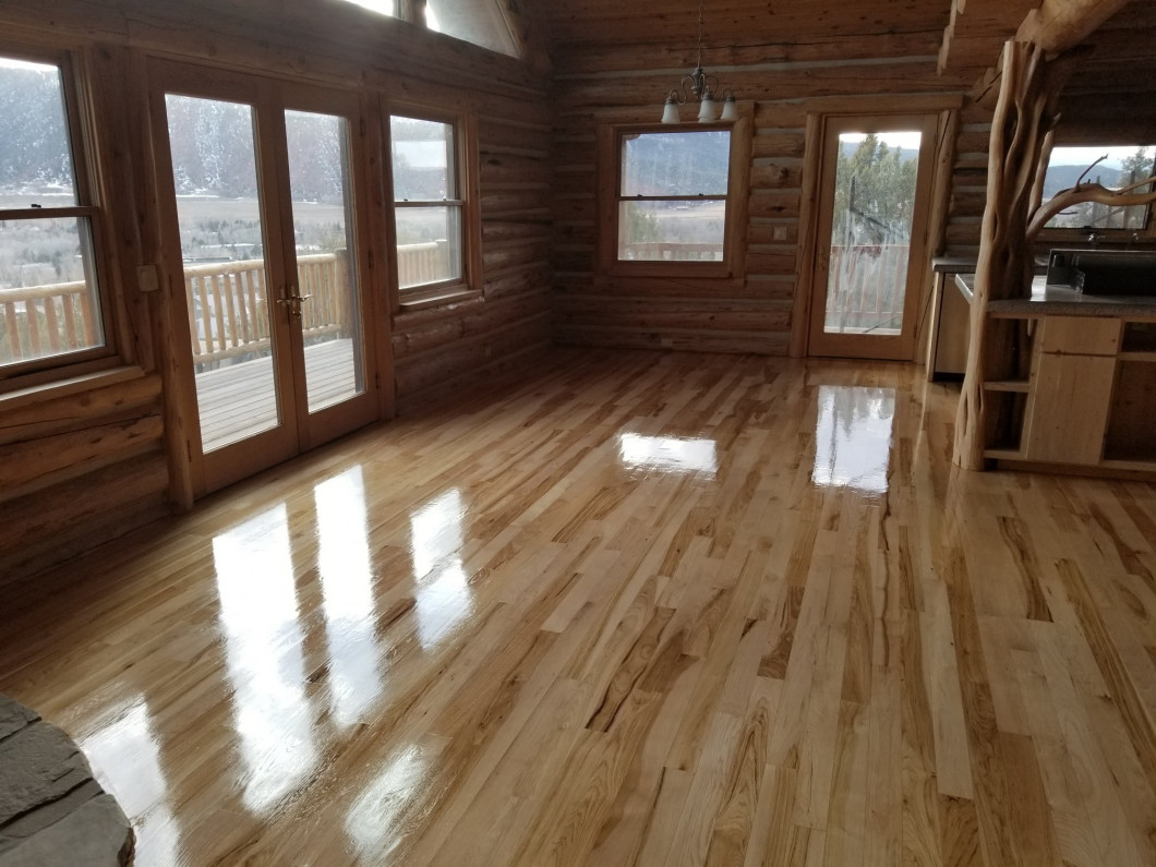 Hardwood Floor Refinishing in Glenwood Springs and Carbondale, CO & Throughout the Roaring Fork Valley